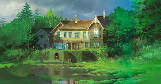 思い出のマーニーの舞台は北海道のどこ?湿地屋敷の建物モデルは軽井沢タリアセンって本当?